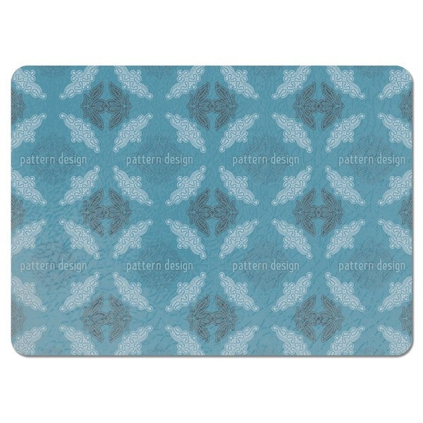 Just Lace Teal Placemats (Set of 4)