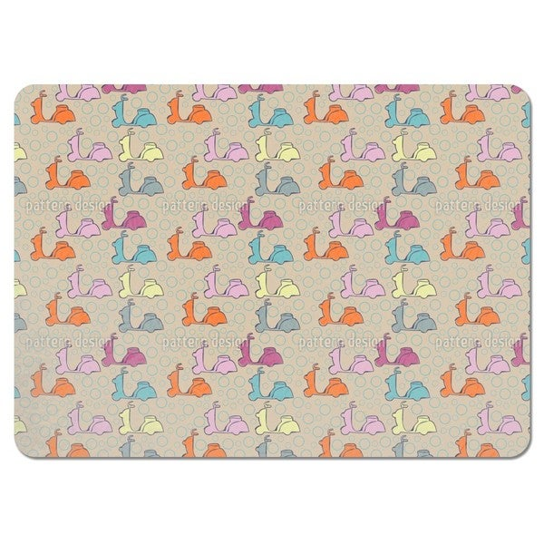 Scooter Placemats (Set of 4)