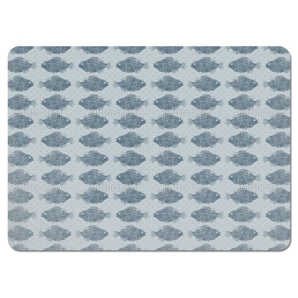 Fresh-Water Fish Placemats (Set of 4)