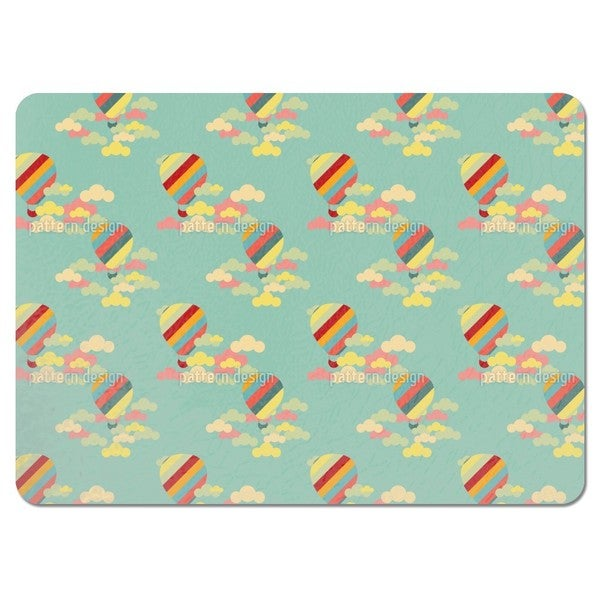 Hot Air Balloons Placemats (Set of 4)