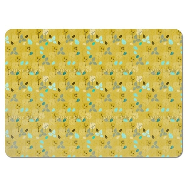 When the Last Leaves Fall Placemats (Set of 4)