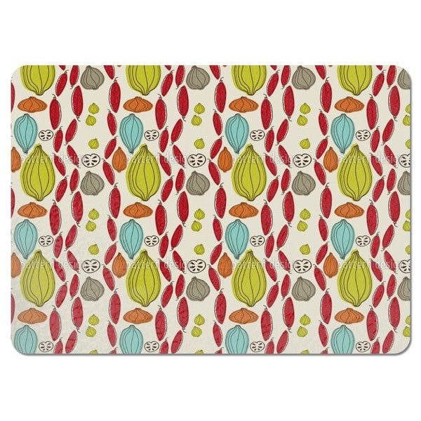 Autumn Vegetables Placemats (Set of 4)