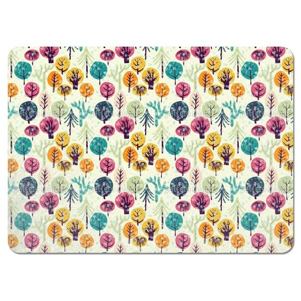 It is Cold in the Forest Placemats (Set of 4)