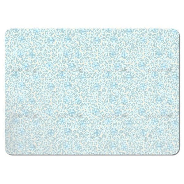 Deep Water Paisley Placemats (Set of 4)