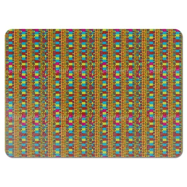 Ethnic Hand Signals Placemats (Set of 4)