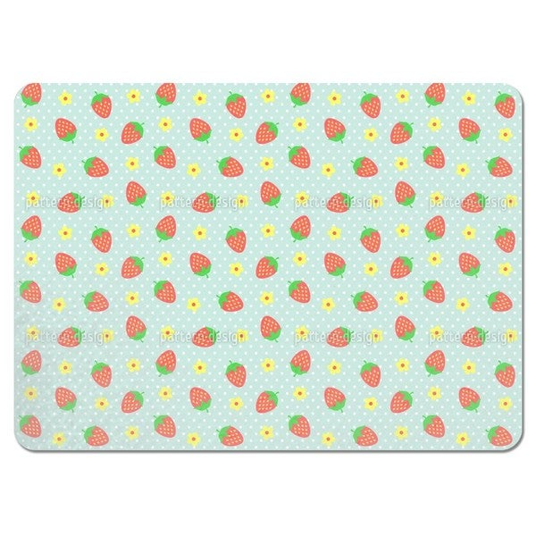 Strawberry Sundae Placemats (Set of 4)