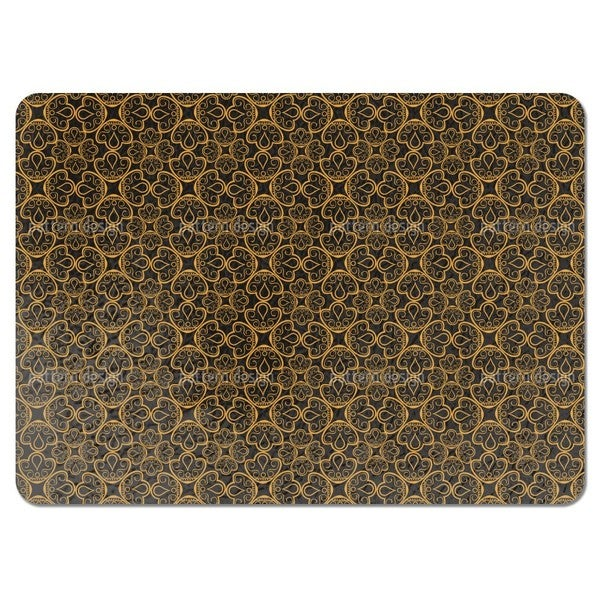 Floral Gold Jewellery Placemats (Set of 4)