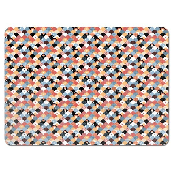 Rising Sun Patchwork Placemats (Set of 4)