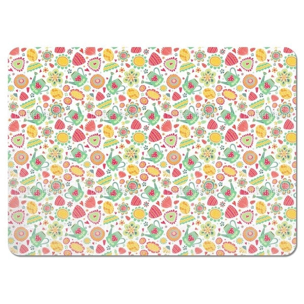 The Watering Can Society Placemats (Set of 4)
