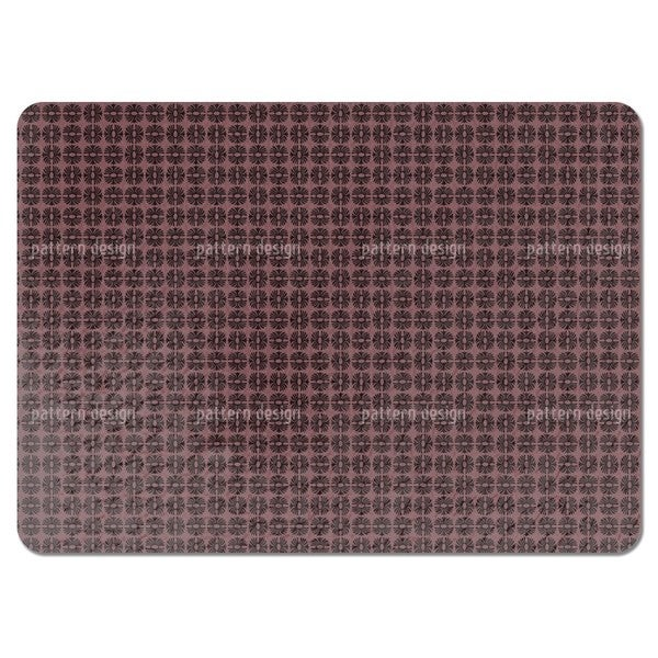 Afro Mauve Placemats (Set of 4)
