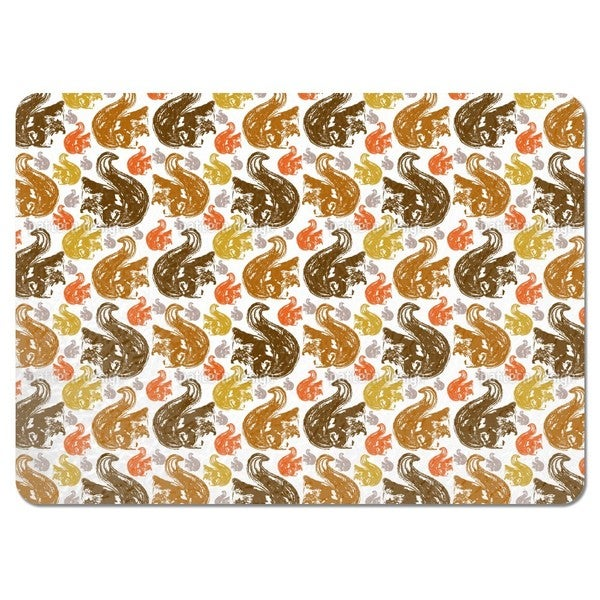 Squirrel Get Together Placemats (Set of 4)