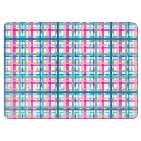 Bright Tartan Placemats (Set of 4)