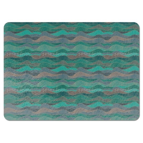 The Myth of the Waves Placemats (Set of 4)