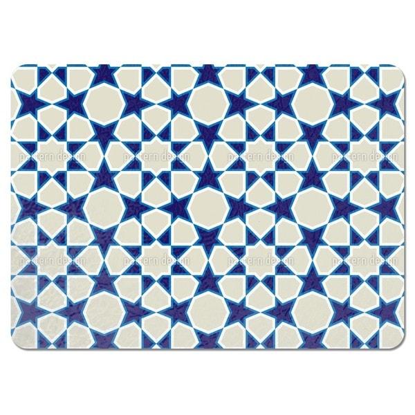 Rosette Tiling Placemats (Set of 4)