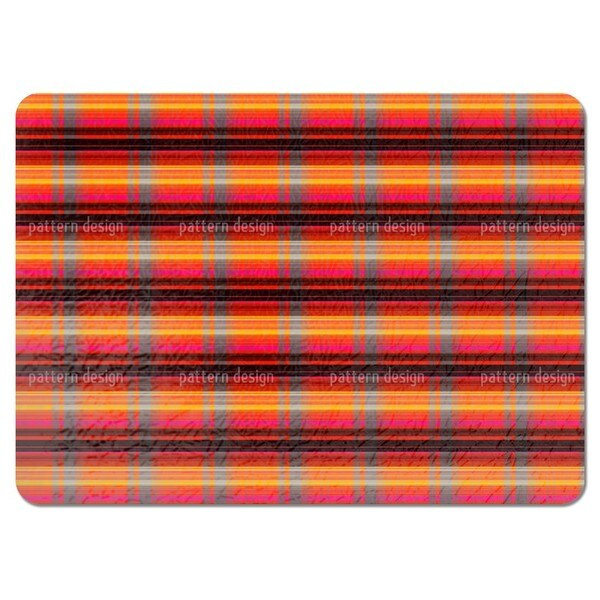 Glowing Stripes Placemats (Set of 4)