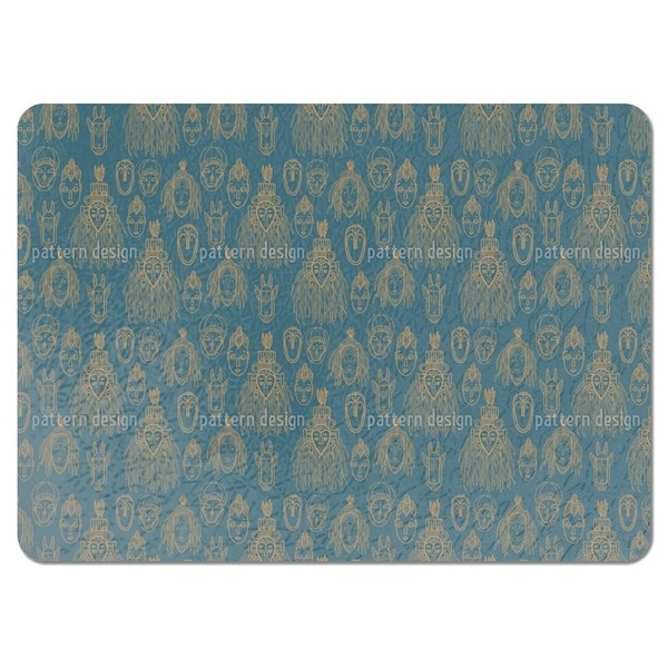 African Trophies Placemats (Set of 4) 20801249