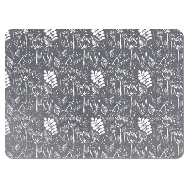 Dewy Grey Uni Placemats (Set of 4)