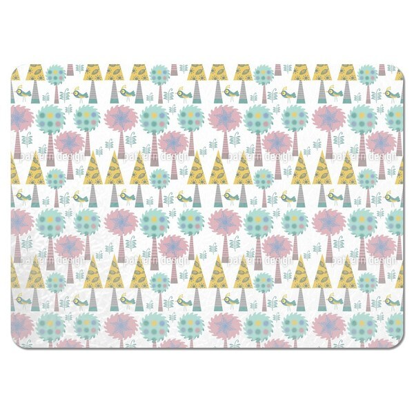 Trees in Wonderland Placemats (Set of 4)