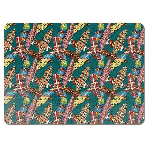 The Feathers of the Great Manitou Placemats (Set of 4)