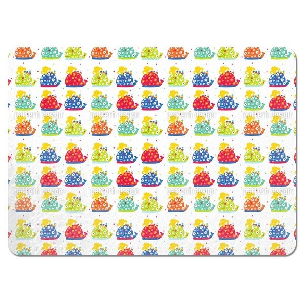 The Patchwork Whales Placemats (Set of 4)