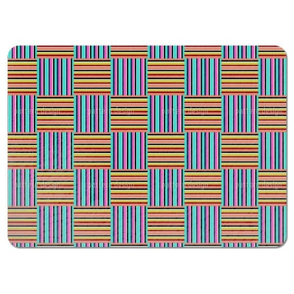 Multi Check Placemats (Set of 4)