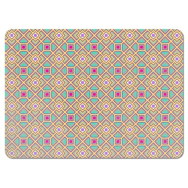 The Square Labyrinth Placemats (Set of 4)