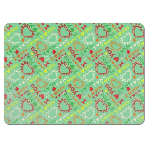 The First Love Placemats (Set of 4)