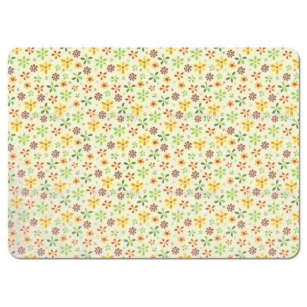 We Love All Flowers Placemats (Set of 4)