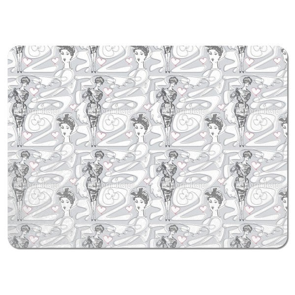Miss Moneypenny Placemats (Set of 4)