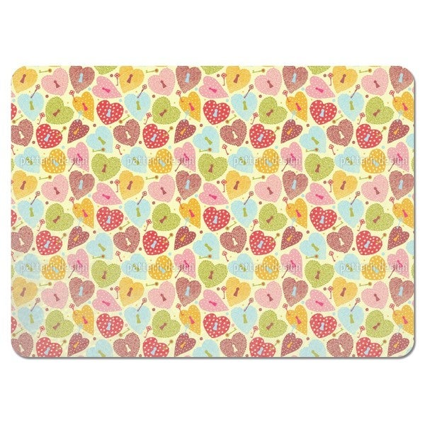 Heart Castles Placemats (Set of 4)