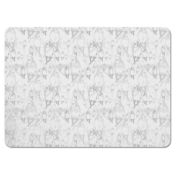 Budgie Dream Placemats (Set of 4)