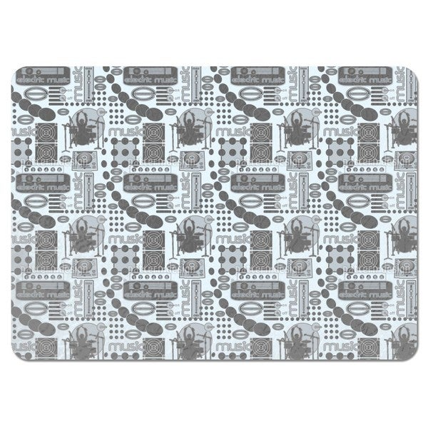 Electric Music Placemats (Set of 4)