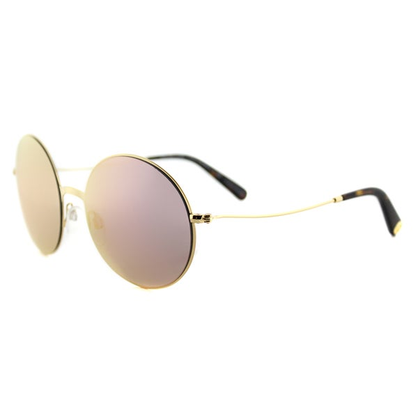 Michael Kors MK 5017 10244Z Kendal II Gold Metal Round Gold Mirror Lens Sunglasses