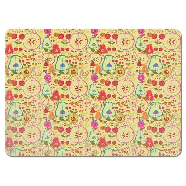 Fruity Romance Placemats (Set of 4)