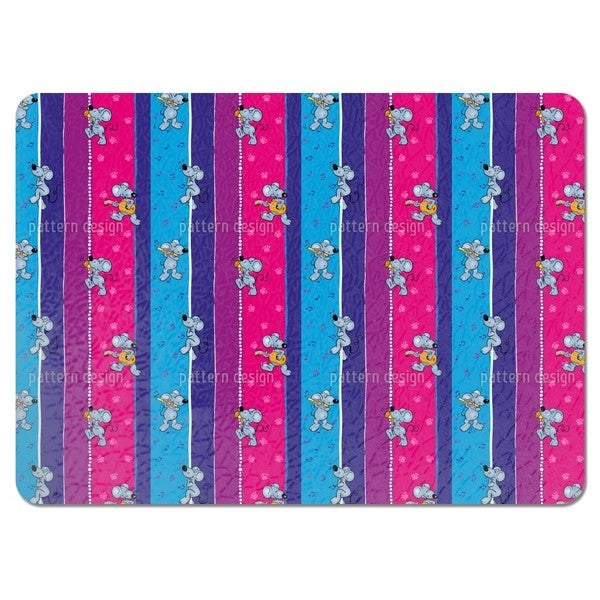 Musical Mice Placemats (Set of 4)
