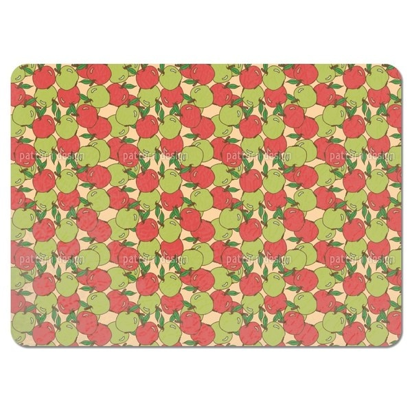 Mixed Apples Placemats (Set of 4)