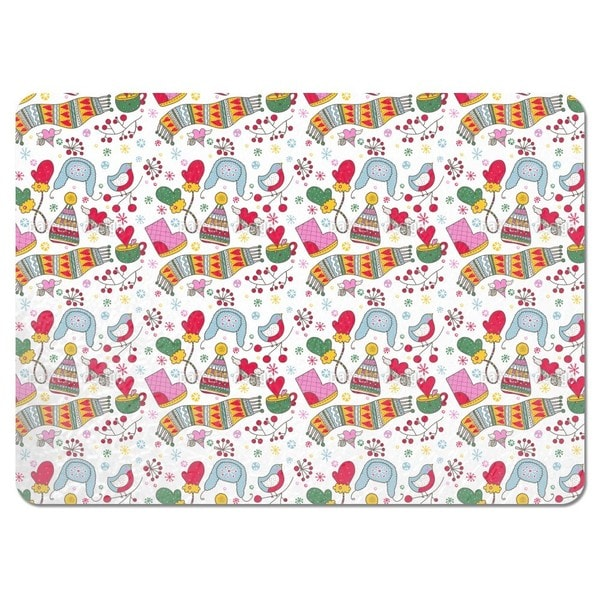 We Love the Cold Winter Placemats (Set of 4)