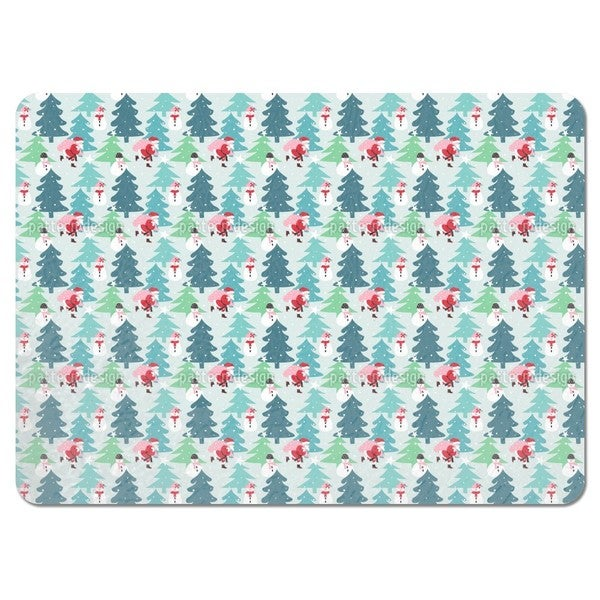Busy Santa Claus Placemats (Set of 4)