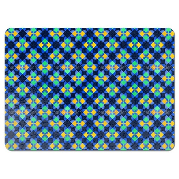 Square Mosaic Placemats (Set of 4)