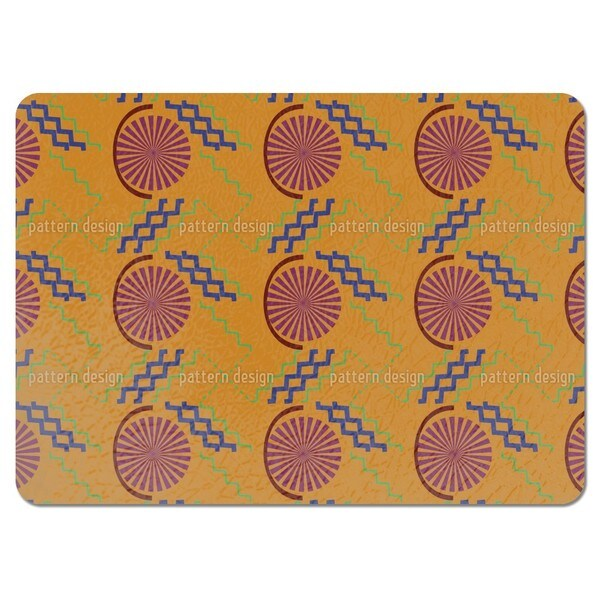 African Stitching Placemats (Set of 4) 20801933