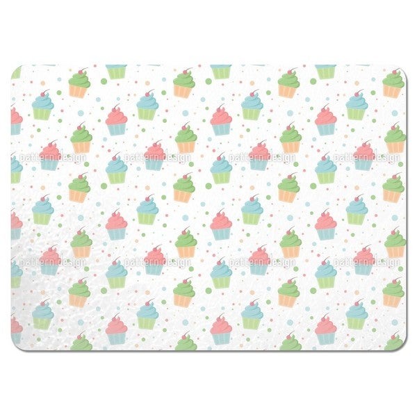 Muffins with Topping Placemats (Set of 4)