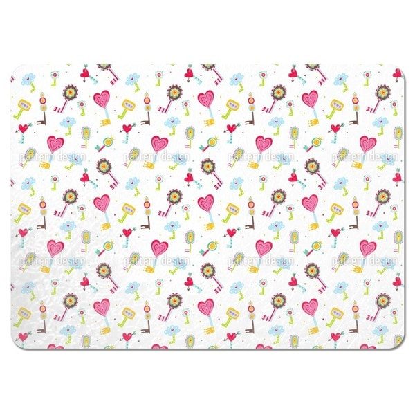 The Keys To the Childrens Hearts Placemats (Set of 4)
