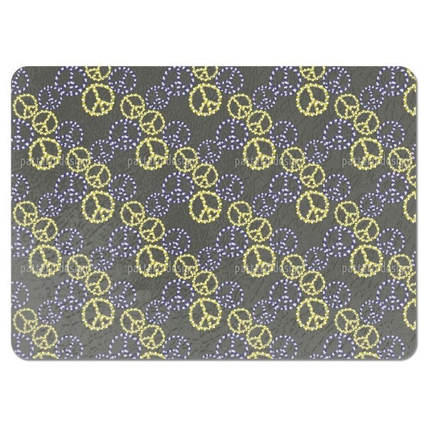 Peace Revival Grey Placemats (Set of 4)