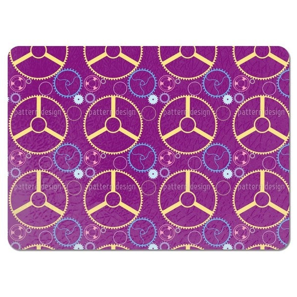 Mechanic Wheels Placemats (Set of 4)