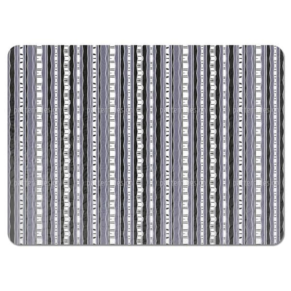 Stripes Are Greeting Each Other Placemats (Set of 4)