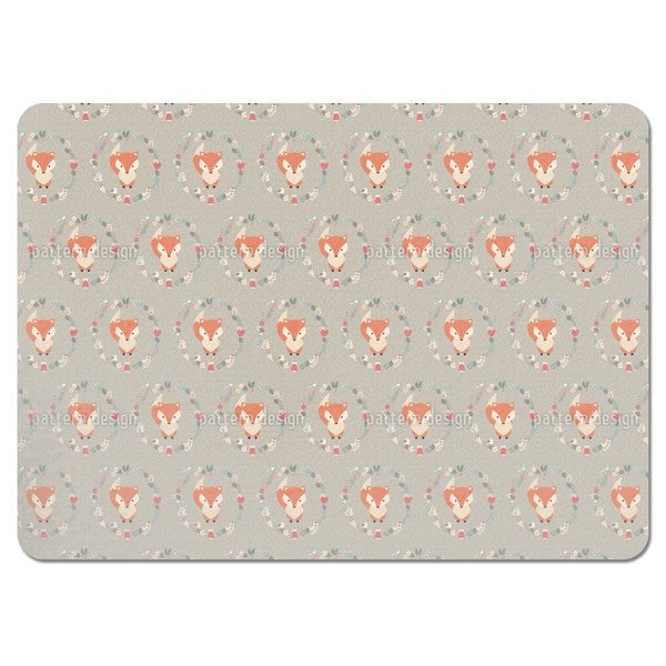 Christmas Baby Fox Placemats (Set of 4)
