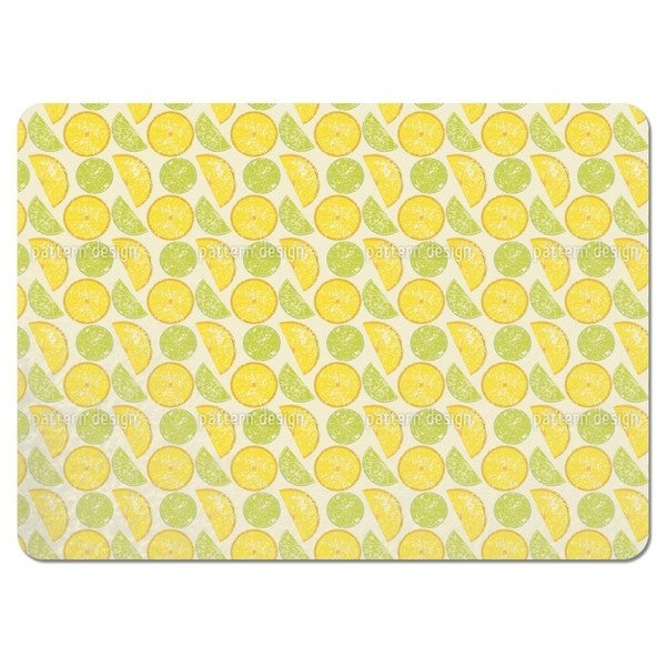 Lemon Or Lime Placemats (Set of 4)