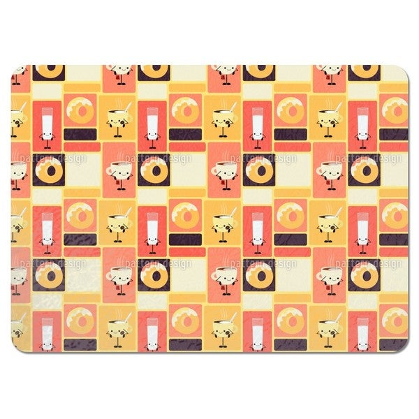 Tasteful Friends Placemats (Set of 4)