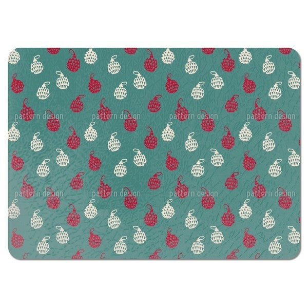 Chrismas Tree Bauble Placemats (Set of 4)