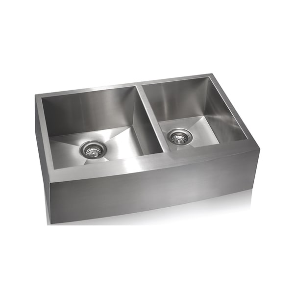Lenova Zero Radius Stainless Steel Farmhouse Sink